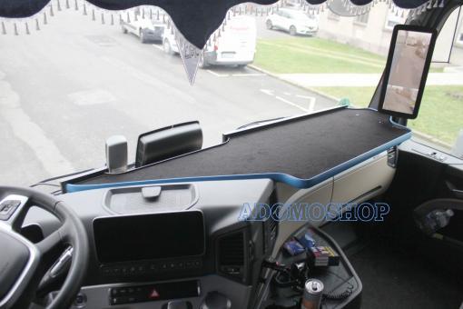 Ablagetisch für Mercedes Actros MP5 und Mp4 XXL NEU in blau