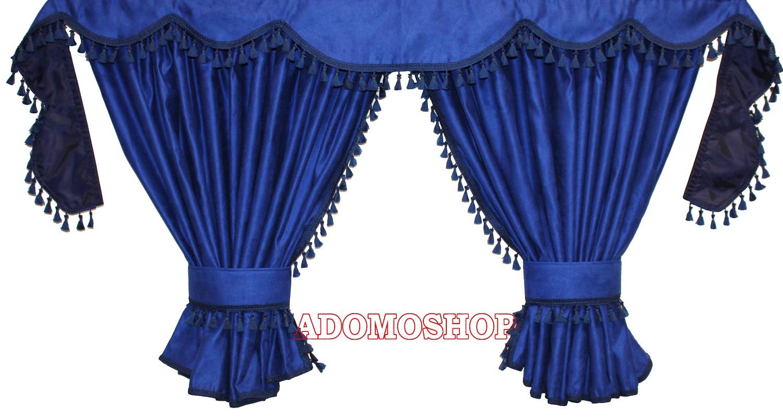 adomo lkw shop gardinen f r mercedes actros mp4 blau. Black Bedroom Furniture Sets. Home Design Ideas