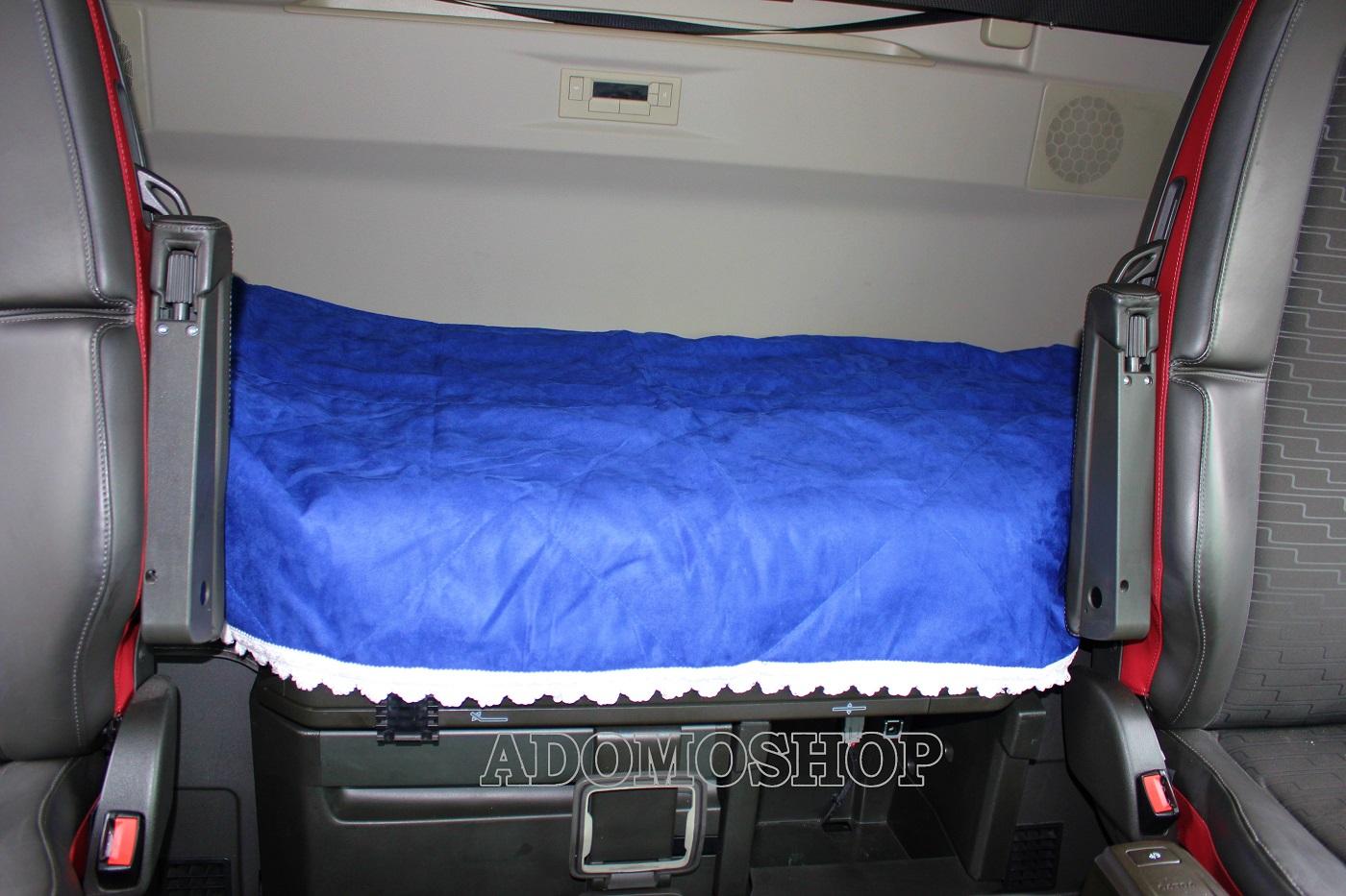 adomo lkw shop tagesdecke blau weiss f r actros man. Black Bedroom Furniture Sets. Home Design Ideas