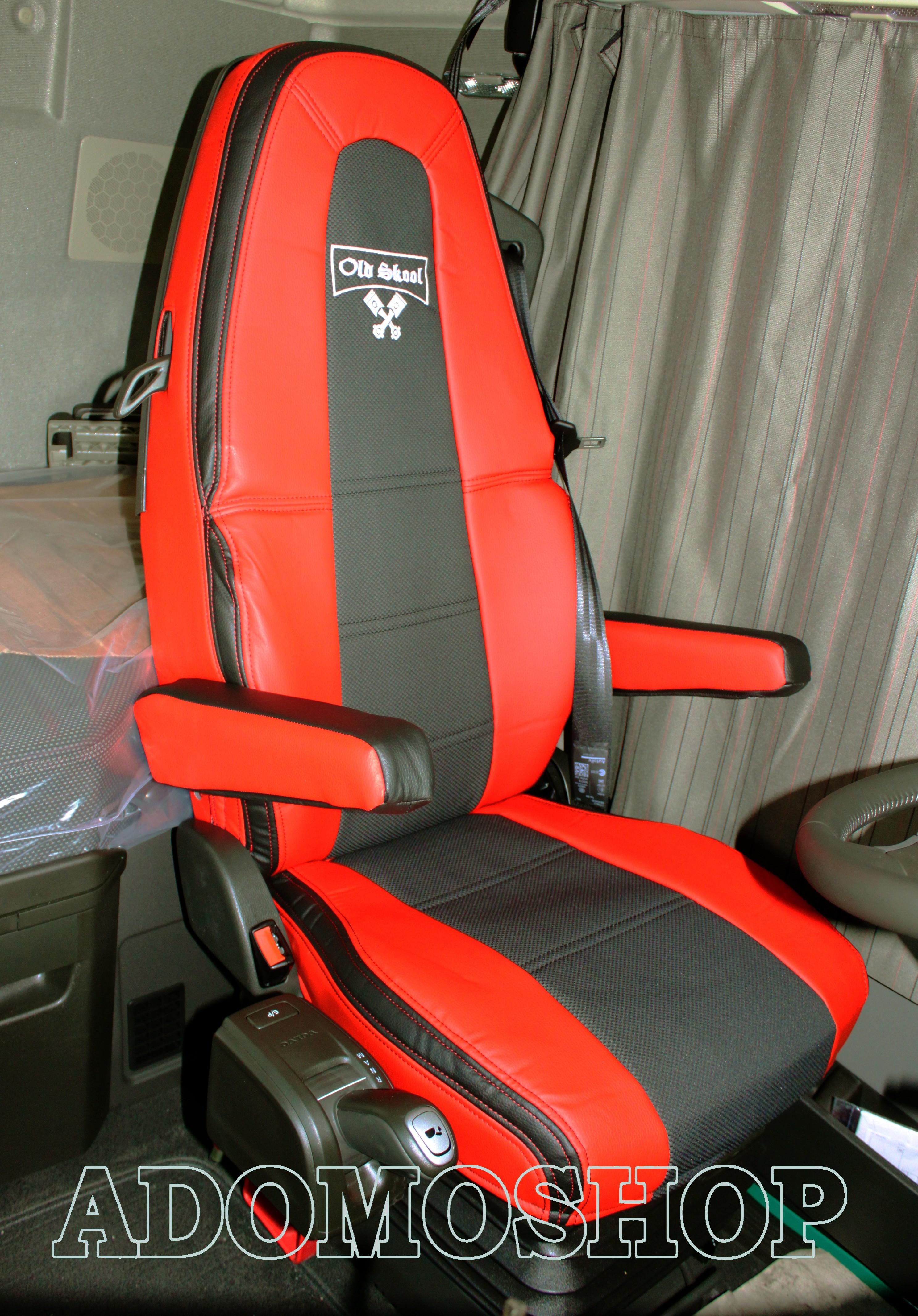 adomo lkw shop sitzbez ge aus kunstleder f r volvo fh4. Black Bedroom Furniture Sets. Home Design Ideas