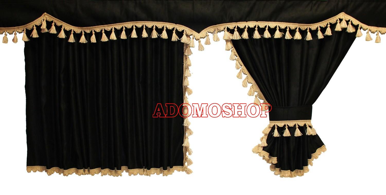 adomo lkw shop lkw gardinen f r man tgx xxl und tga xxl. Black Bedroom Furniture Sets. Home Design Ideas