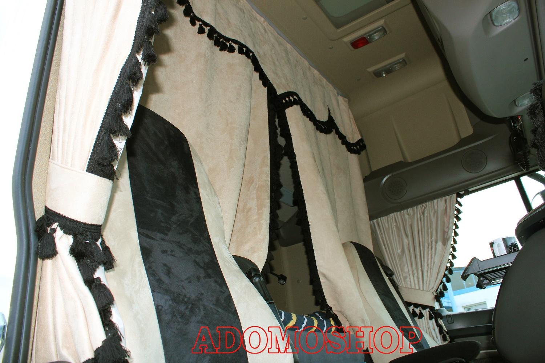 adomo lkw shop lkw gardinen f r daf xf 106 xf 105 super. Black Bedroom Furniture Sets. Home Design Ideas