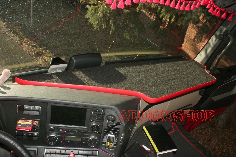 Ablagetisch für Mercedes Actros MP5 und Mp4 XXL NEU in rot