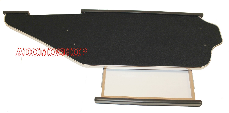 Adomo LKW-Shop | Lkw Tisch für Actros MP4 mit Schublade, schwarz ...