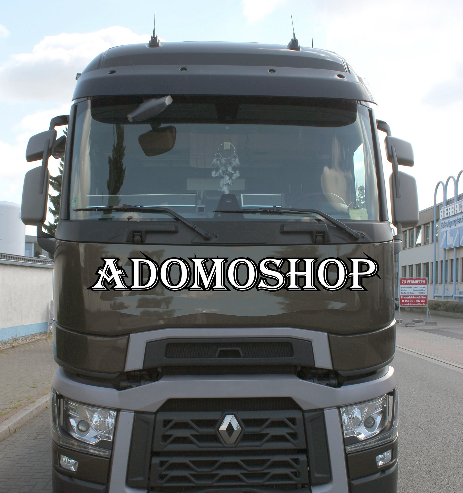 adomo lkw shop lkw ablagetisch f r renault t ab 2014 mit. Black Bedroom Furniture Sets. Home Design Ideas