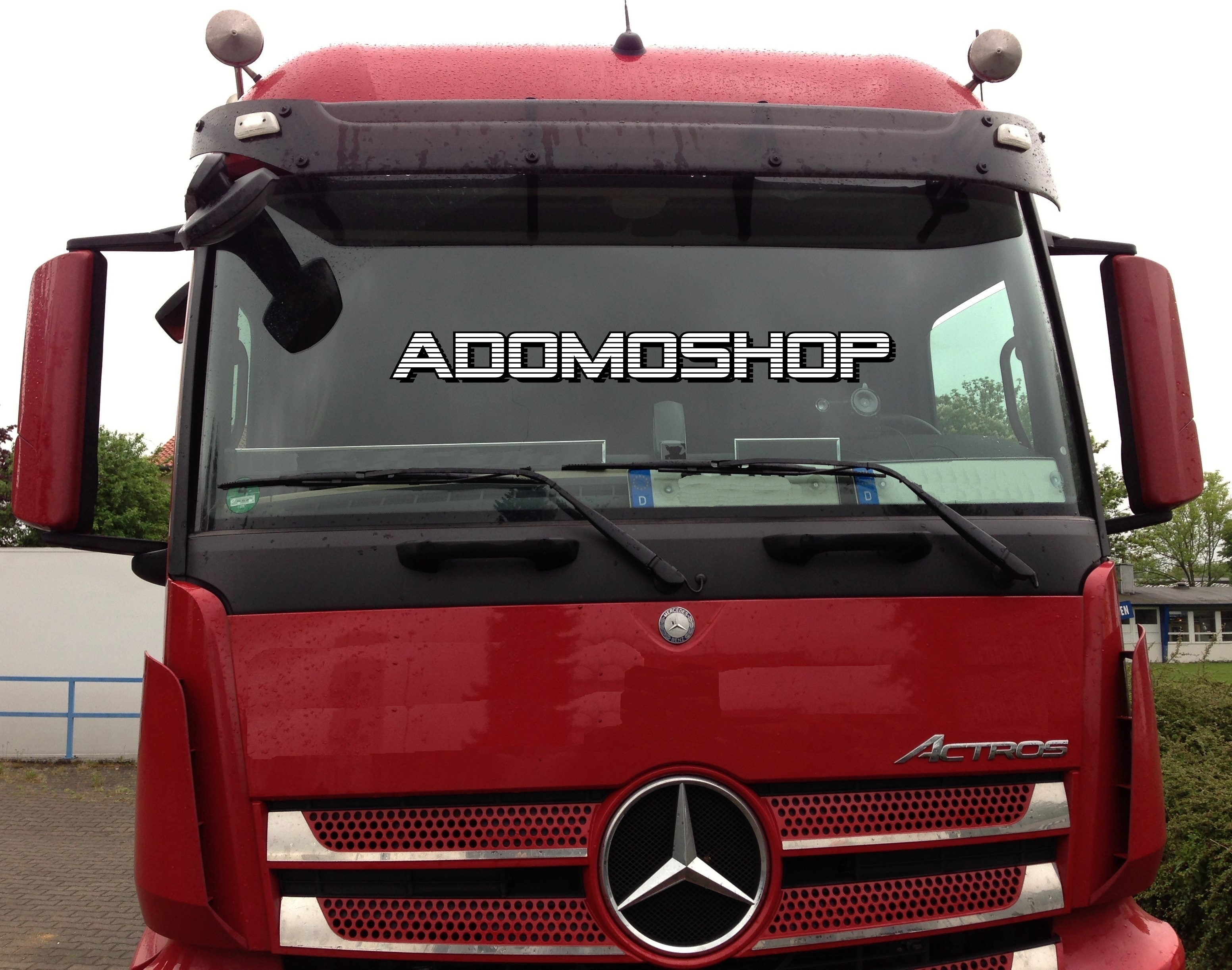 adomo lkw shop ablagetisch f r actros mp4 schmales haus. Black Bedroom Furniture Sets. Home Design Ideas