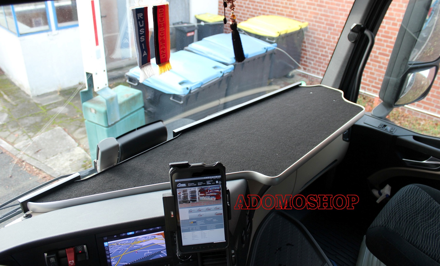 adomo lkw shop ablagetisch f r mercedes actros mp4 xxl. Black Bedroom Furniture Sets. Home Design Ideas